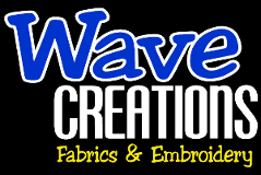 Wave Creations | Embroidery, Fabrics & Quilt Shop